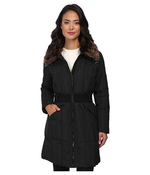 LAUREN by Ralph Lauren - Four-Pocket Heavy Down (Black) Women's Coat