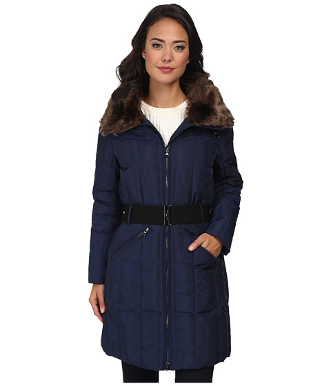 LAUREN by Ralph Lauren - Four-Pocket Heavy Down (Regal Navy) Women's Coat
