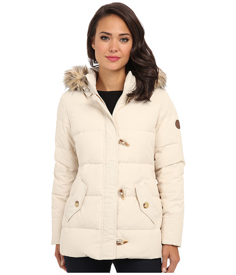 LAUREN by Ralph Lauren - Down Toggle Coat (Moda Cream) Women's Coat