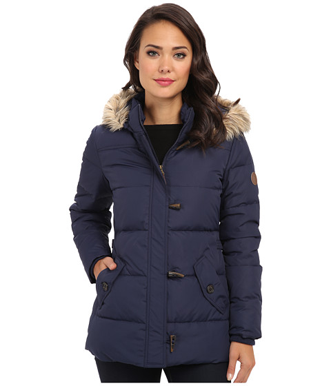 LAUREN by Ralph Lauren - Down Toggle Coat (Regal Navy) Women's Coat