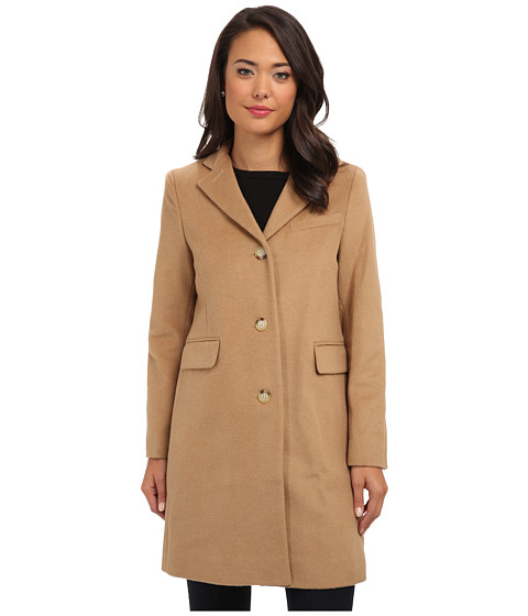 LAUREN by Ralph Lauren - Wool Reefer (Laurel Camel) Women's Coat