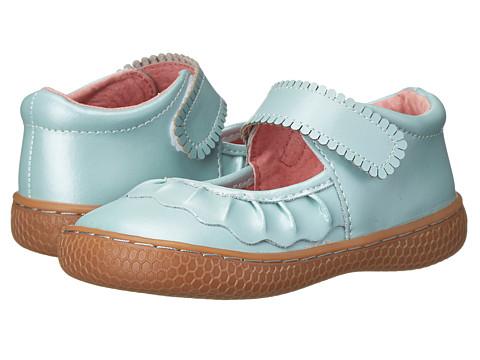 Livie & Luca - Ruche (Infant/Toddler/Little Kid) (Cornflower Blue) Girls Shoes