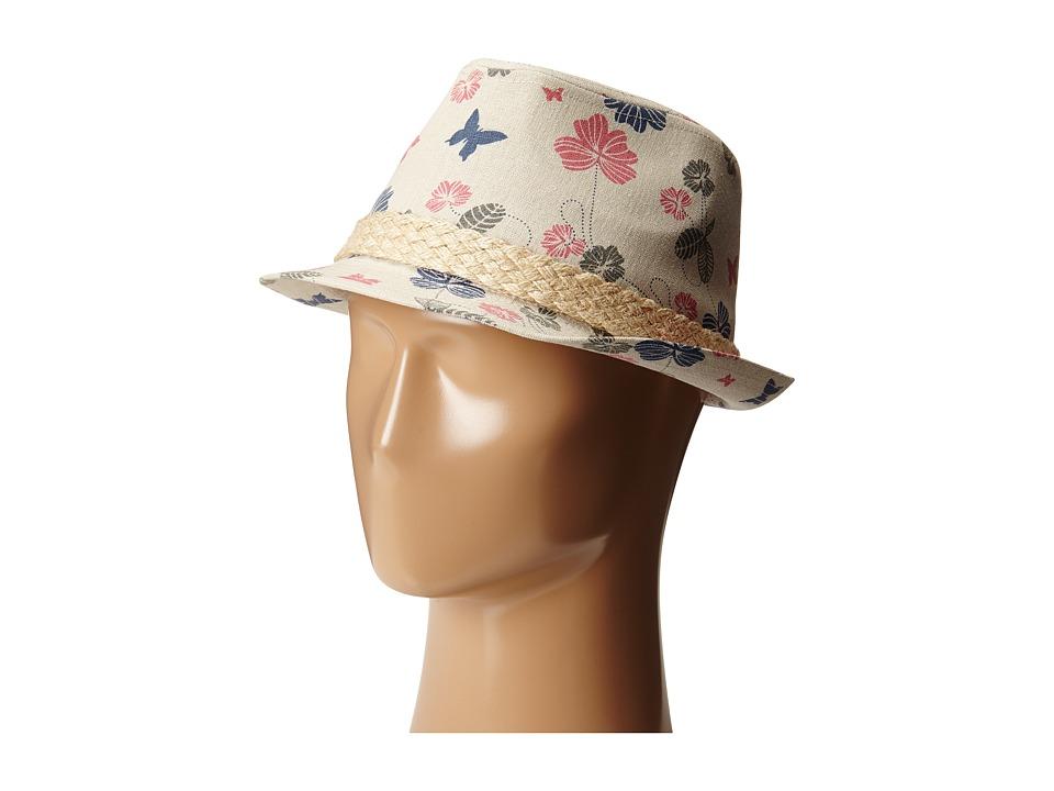Pistil - Bardot Fedora (Linen) Fedora Hats