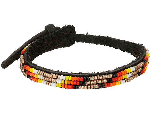 Chan Luu - Adjust Beaded Pattern Single Bracelet (Pale Gold Mix) Bracelet