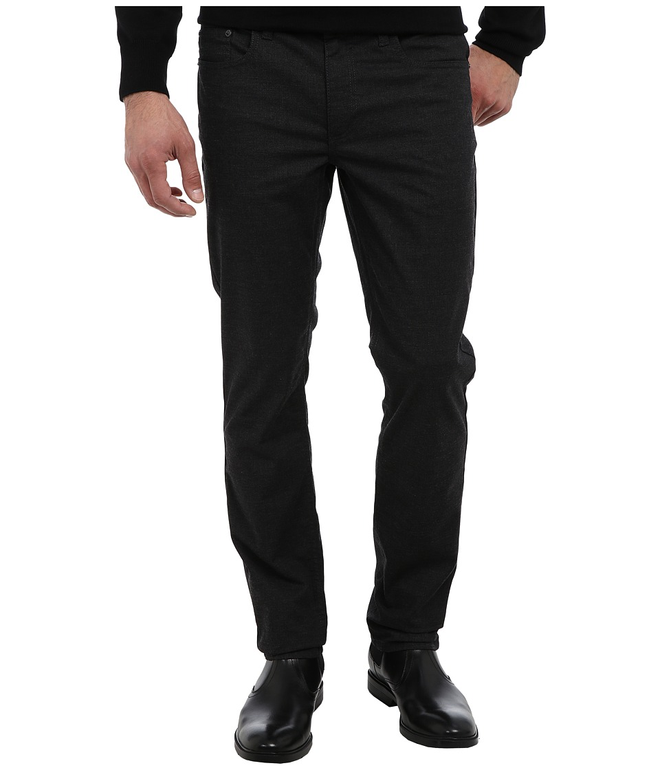 Kenneth Cole Sportswear - Slim Five-Pocket (Charcoal Heather) Men