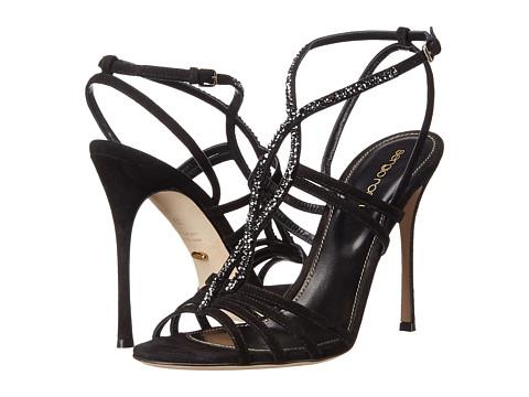 Sergio Rossi - Bess (Nero) Women's Shoes
