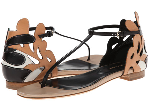 Sergio Rossi - Matisse Flat Sandal (New Nude) Women