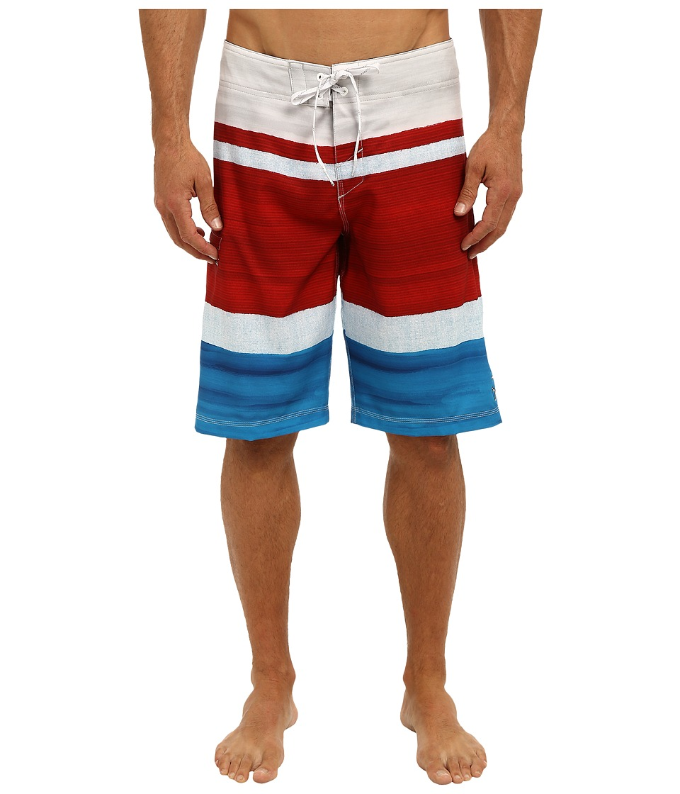 O'Neill - Heist Superfreak Series Boardshort (Fire) Men's Swimwear