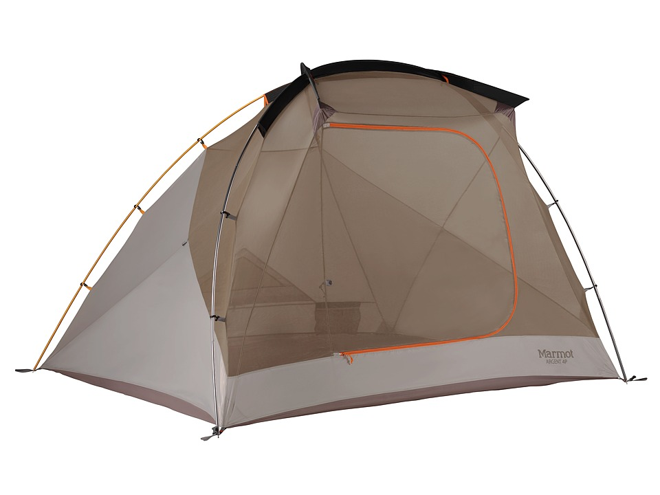 Marmot - Argent 4P (Blaze/Sandstorm) Outdoor Sports Equipment