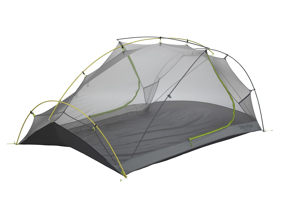 Marmot - Force 3P (Green Lime/Steel) Outdoor Sports Equipment