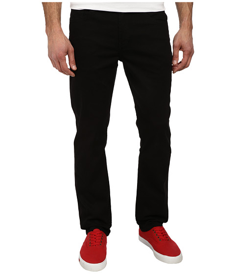 O'Neill - The Straight Twill Denim (Black) Men's Casual Pants