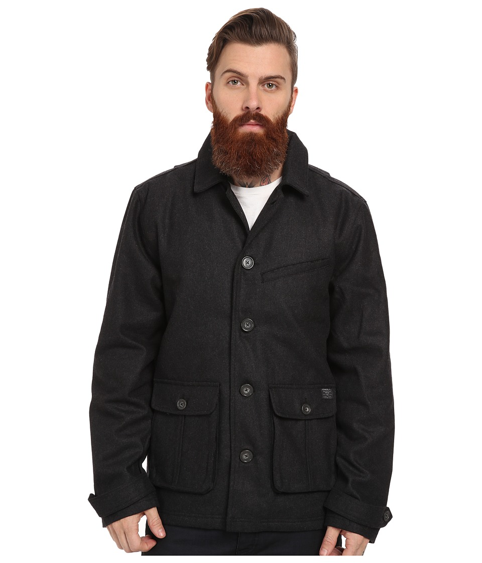 O'Neill - Ahab Jacket (Heather Black) Men's Coat