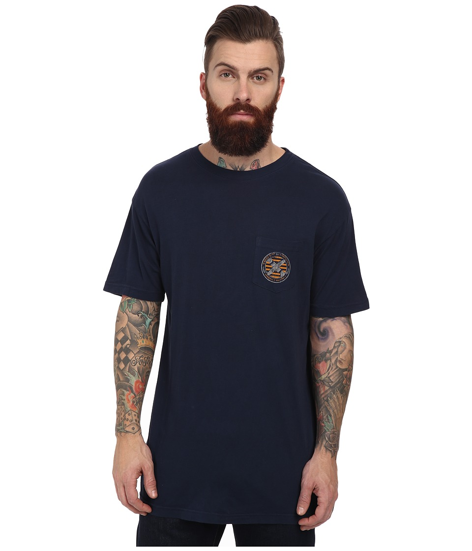 O'Neill - College S/S Screen Tee (Dark Navy) Men's T Shirt