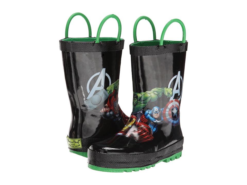 Western Chief Kids - Avengers Force (Toddler/Little Kid/Big Kid) (Black) Boys Shoes