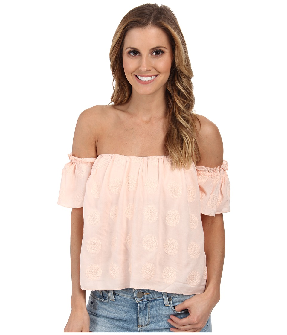 O'Neill - Astrid Top (Blush Pink) Women's Short Sleeve Pullover