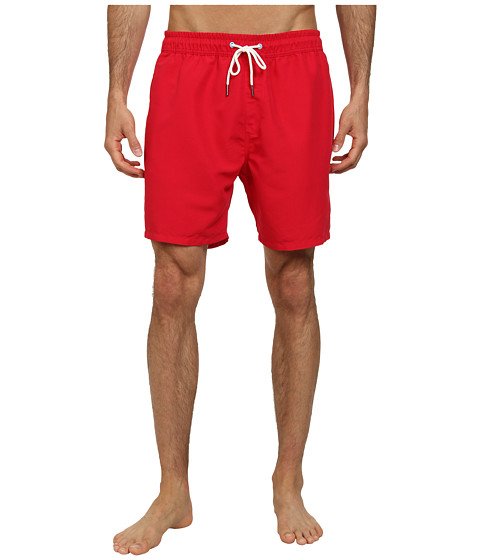 Sperry Top-Sider - Sailor Solids Volley Short (Cranberry) Men's Swimwear