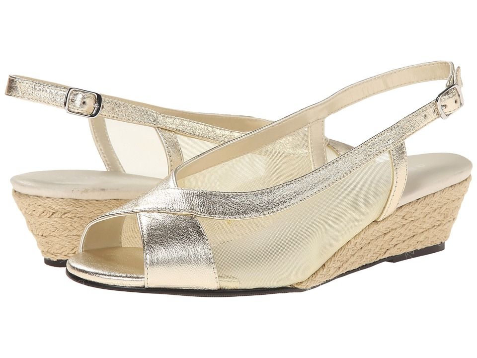 David Tate - Portos (Platinum) Women's Sling Back Shoes