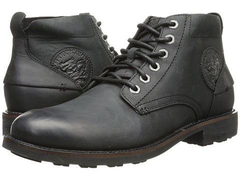 Mark Nason - Kington (Black) Men's Lace-up Boots
