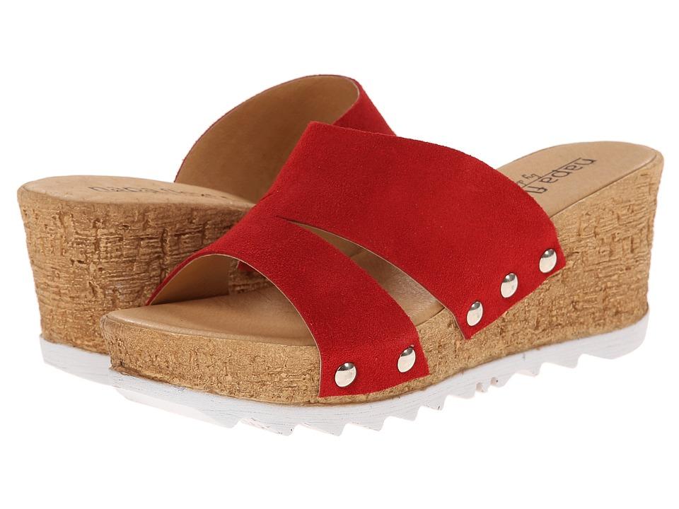 David Tate - Milano (Red) Women's Sandals