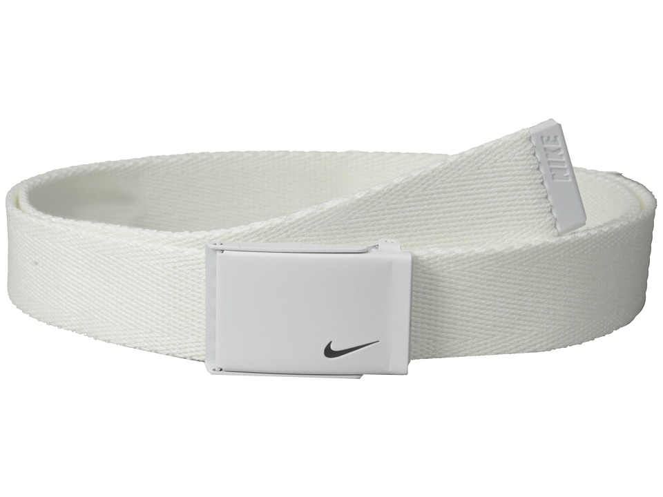 Nike - Tech Essential Single Web (White) Women's Belts