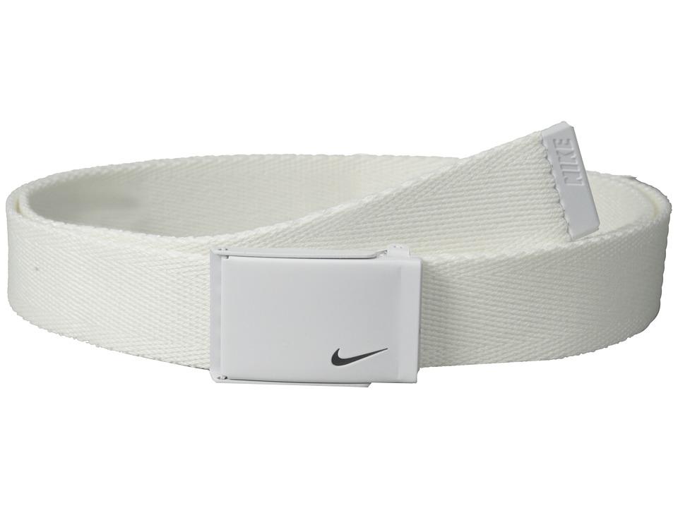 Nike - Tech Essential Single Web (White) Women's Belts