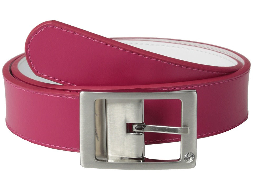 Nike - Rhinestone Harness Reversible (Fuchsia Force/White) Women's Belts