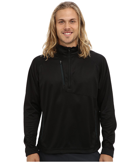 Zero Restriction - Quarter Wedge 2.0 (Black/Bottle) Men's Long Sleeve Pullover