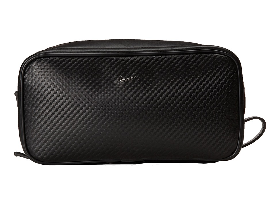Nike - Carbon Fiber Texture Travel Kit (Black) Travel Pouch