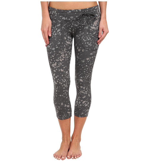 Tonic - Bliss Cropped Leggings (Gun Metal) Women's Casual Pants