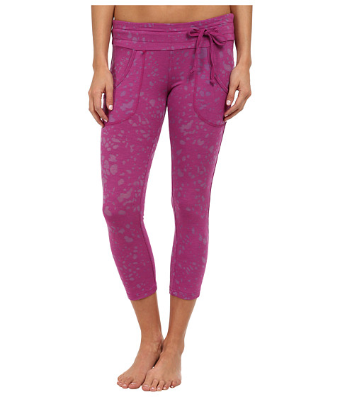 Tonic - Bliss Cropped Leggings (Wild Plum) Women's Casual Pants