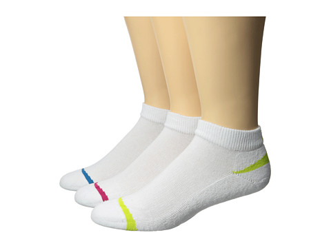 New Balance - Cotton Low Cut 3 Pack (Assorted) Low Cut Socks Shoes