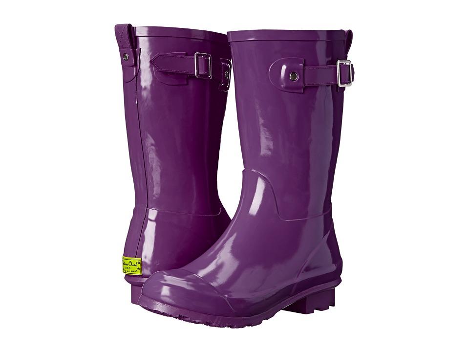 Western Chief Kids - Classic Tall (Little Kid/Big Kid) (Purple) Girls Shoes