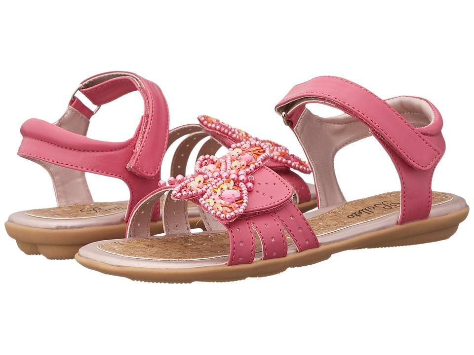 Jumping Jacks Kids - Balleto - Dragonfly (Toddler/Little Kid/Big Kid) (Hot Pink) Girls Shoes