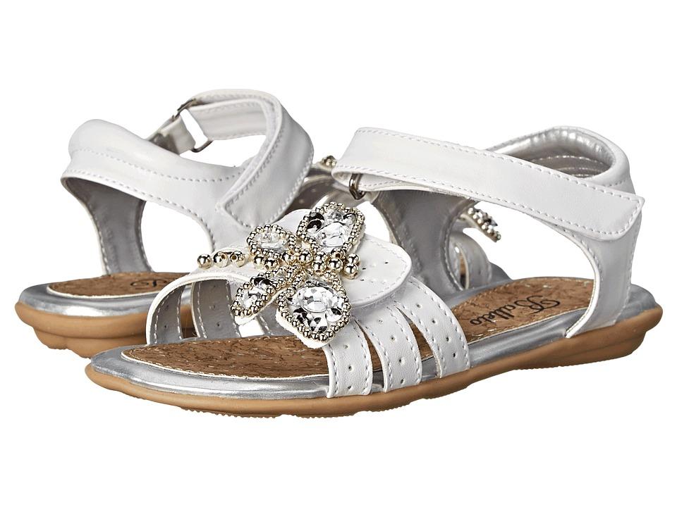 Jumping Jacks Kids - Balleto - Dragonfly (Toddler/Little Kid/Big Kid) (White) Girls Shoes