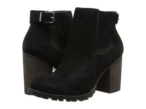 Steve Madden - Lacey (Black Suede) Women's Boots