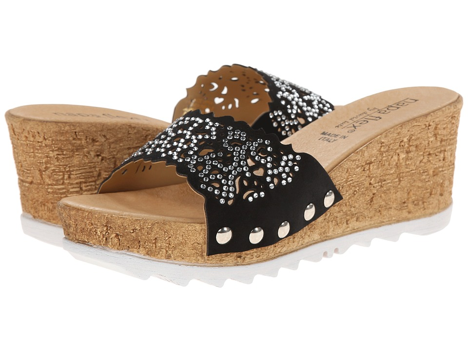 David Tate - Romantica (Black) Women's Sandals