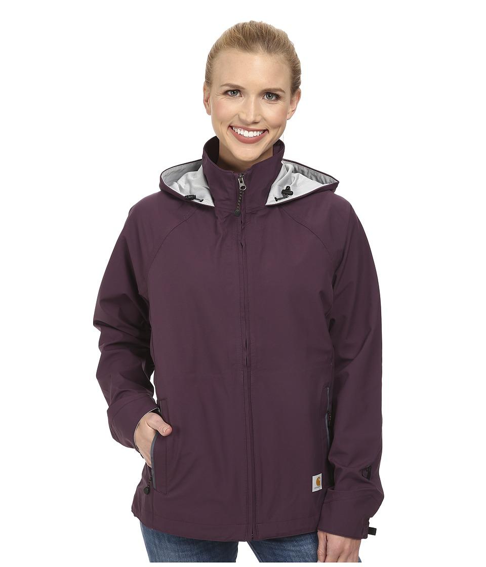Carhartt - Force Equator Jacket (Plum/Seal Grey) Women's Coat