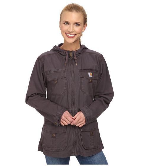 Carhartt - El Paso Utility Jacket (Dark Shale) Women's Coat