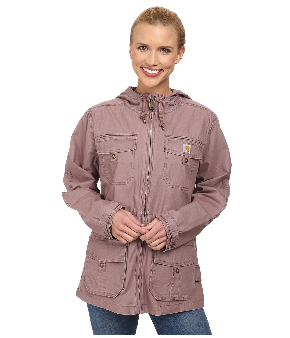 Carhartt - El Paso Utility Jacket (Light Raisin) Women's Coat