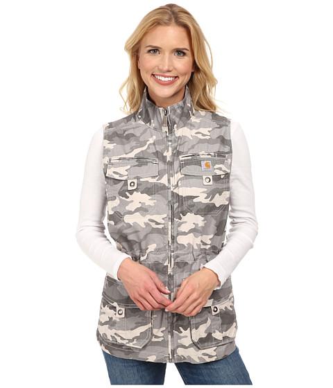Carhartt - El Paso Utility Vest (Camo Grey) Women