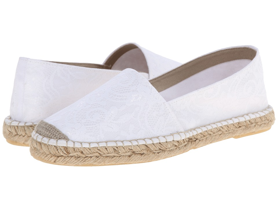 David Tate - Sorento (White) Women's Flat Shoes