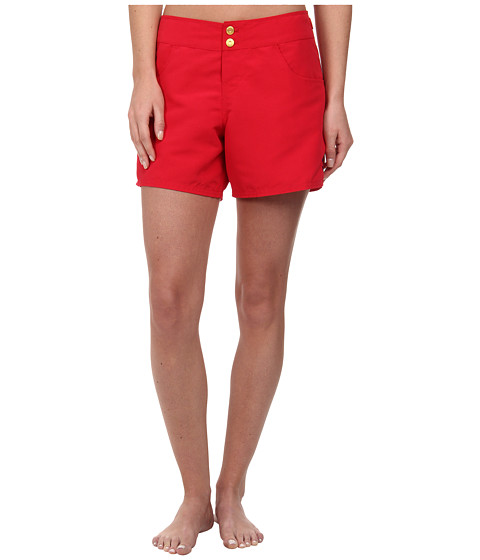 Sperry Top-Sider - Ahoy, Matey Boardshort (Ruby) Women's Swimwear