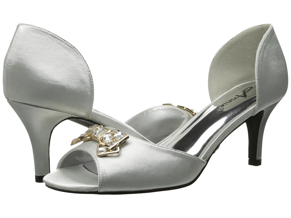 Annie - Late Night (Silver) Women's 1-2 inch heel Shoes