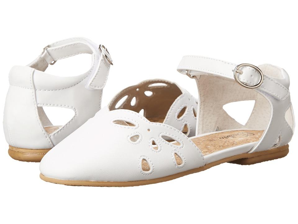 Jumping Jacks Kids - Balleto - Sadie (Toddler/Little Kid/Big Kid) (White) Girls Shoes