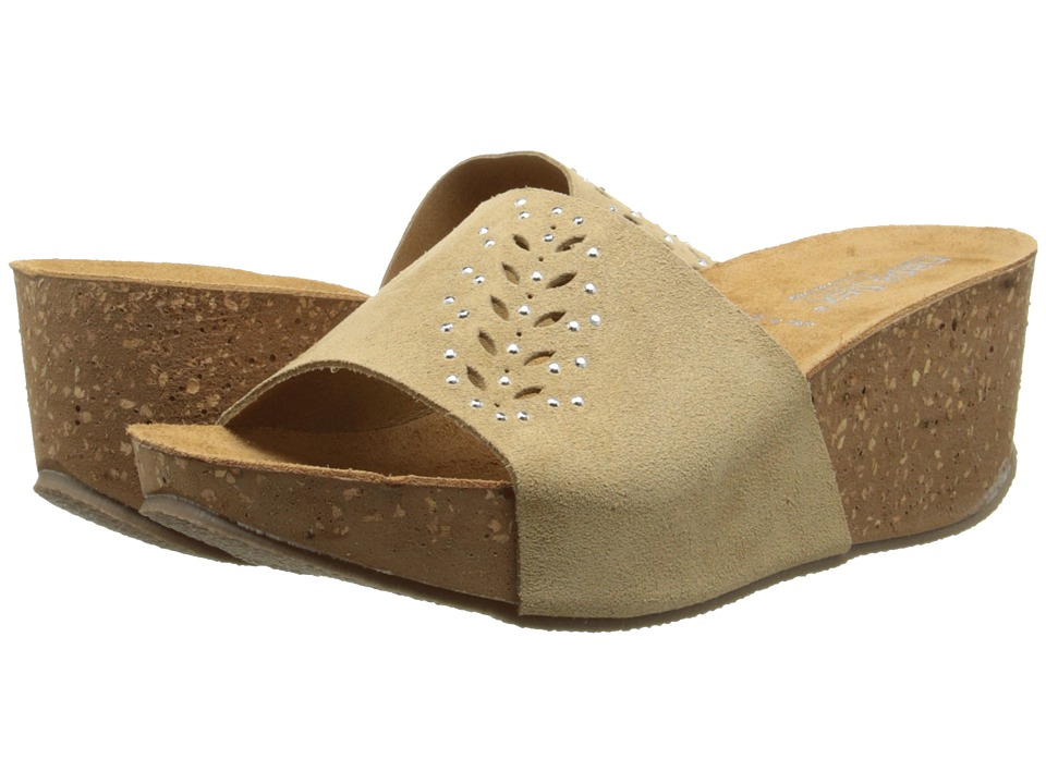 David Tate - Silvia (Natural) Women's Sandals