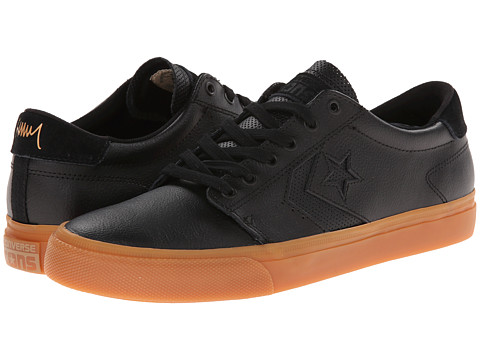Converse - KA3 Ox (Black/Gum) Skate Shoes