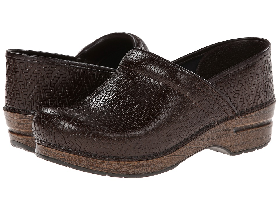 Dansko - Professional (Brown Woven) Clog Shoes