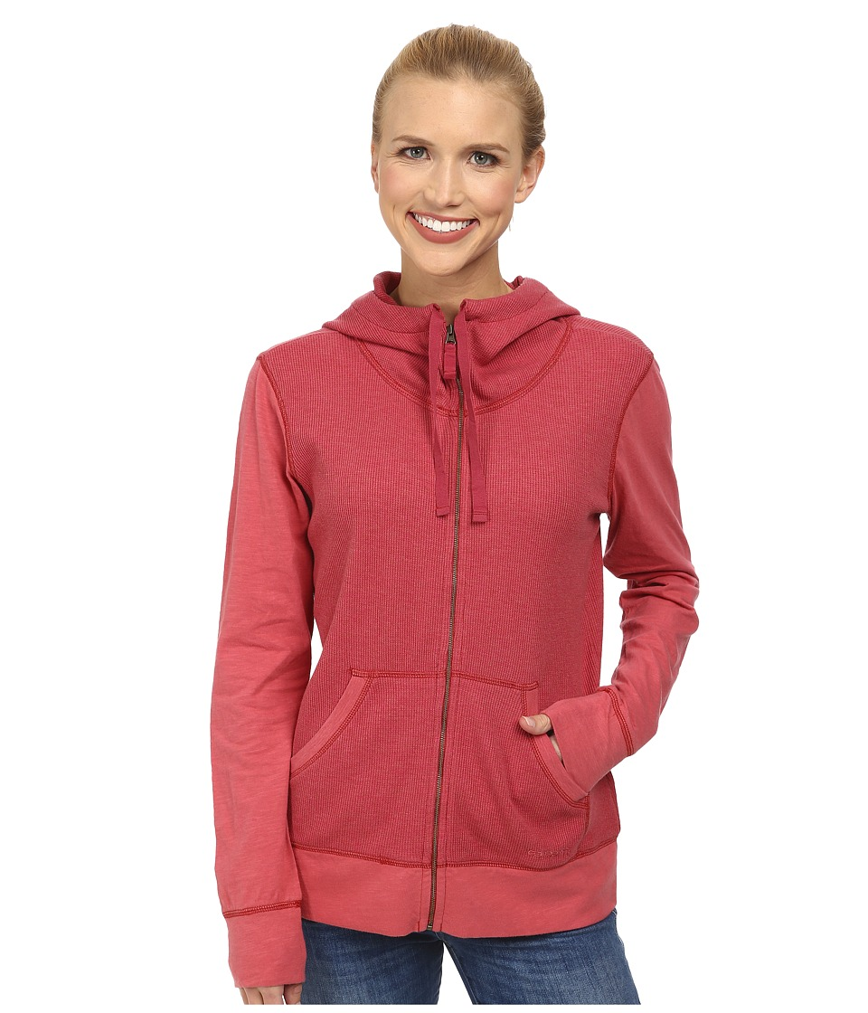Carhartt Hayward Zip Front Hoodie (Wild Rose Heather) Women