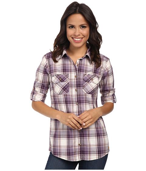 Carhartt - Huron Shirt (Plum) Women's Short Sleeve Button Up