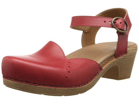 Dansko - Maisie (Red Full Grain) Women